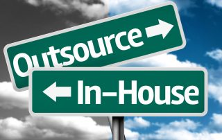 Sign posts of outsource or inhouse