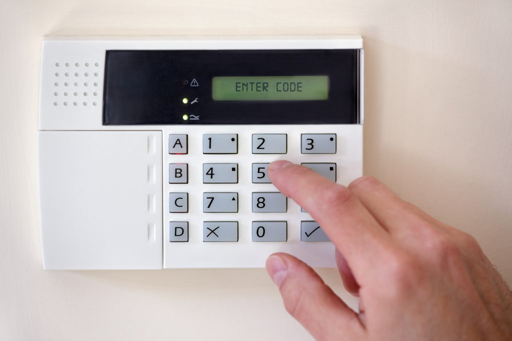 Secure your home against the obvious risks