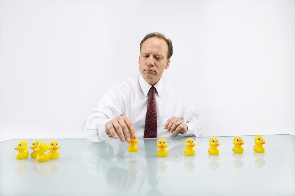 Without your ducks in a row, you're a sitting duck