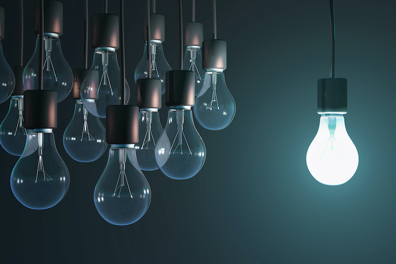 One lightbulb among many